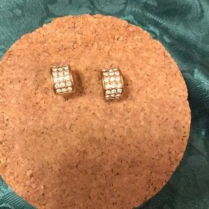 MK gold earrings brand new